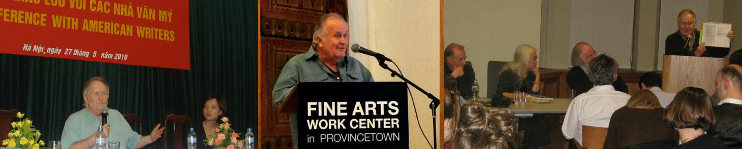 Fred Marchant, poet, at readings and workshops with partner organizations
